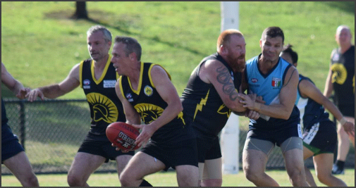 Waverley Warrior Players In Action